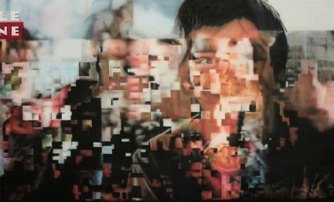 Distorted TV signals