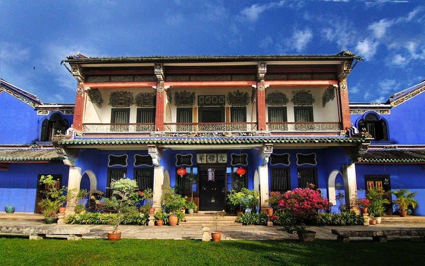 The Cheong Fatt Tze or Blue Mansion in Penang.