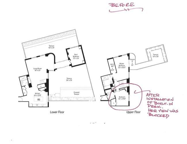 New York Greenwich Village duplex Floor Plan