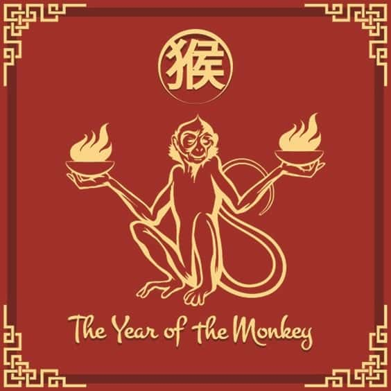 2016 is the year of the Yang Fire Monkey, where the Yang Fire is the Stem and the Monkey the Branch.