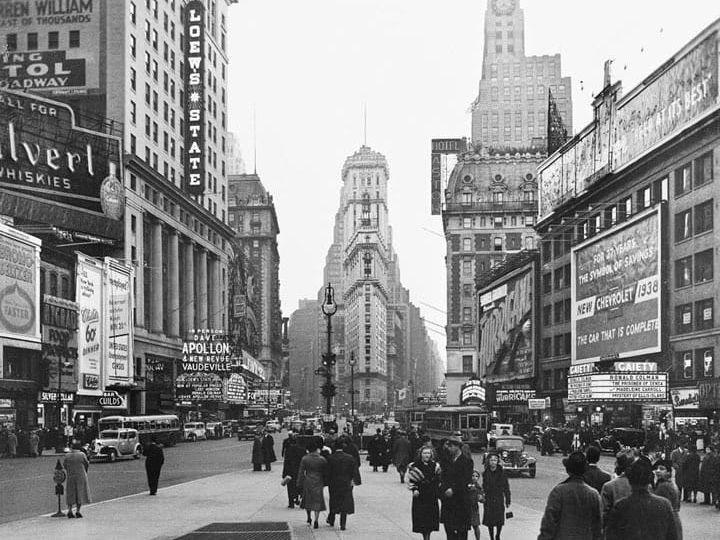 New York TImes Square Y junction Feng Shui (Demo)