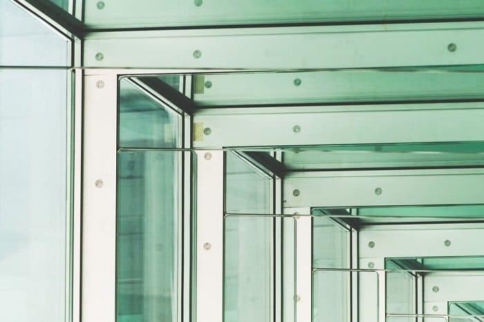Glass metal false beams-feng-shui (Demo)